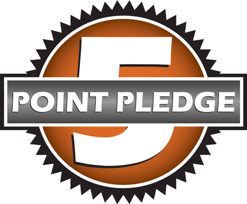 The Five Point Service Pledge