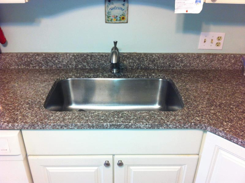 Granite Countertop Undermount Sink Repair The Solid